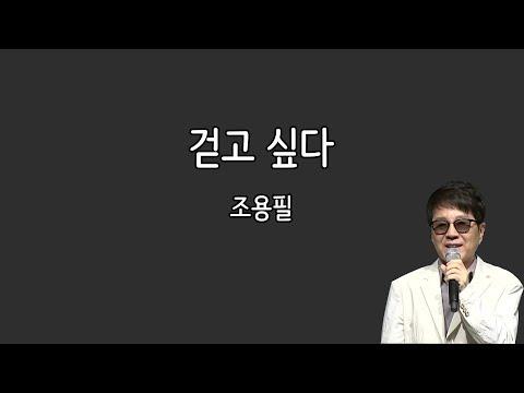 조용필 - 걷고 싶다 (가사포함)