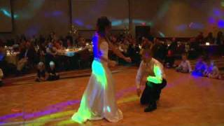 HILARIOUS!  Surprise Wedding First Dance to Flo Rida