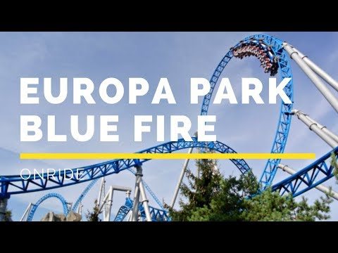 Europa Park - Blue Fire Megacoaster Onride