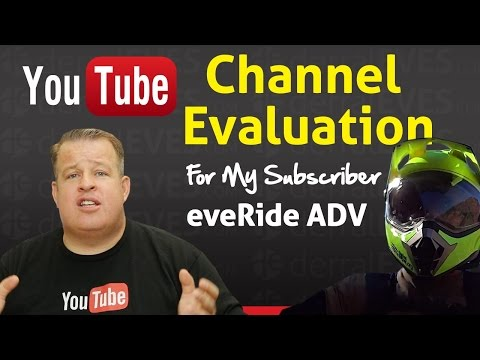 Live: More Views, Subscribers & Money - YouTube Channel Evaluation eveRide