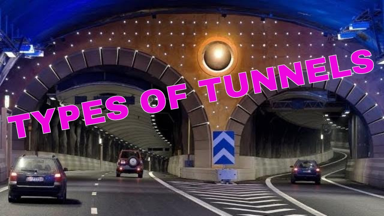Types of Tunnels-Guide to Classification of Tunnel Construction in