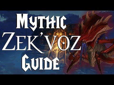 Zek'voz Mythic - Guide |  Uldir