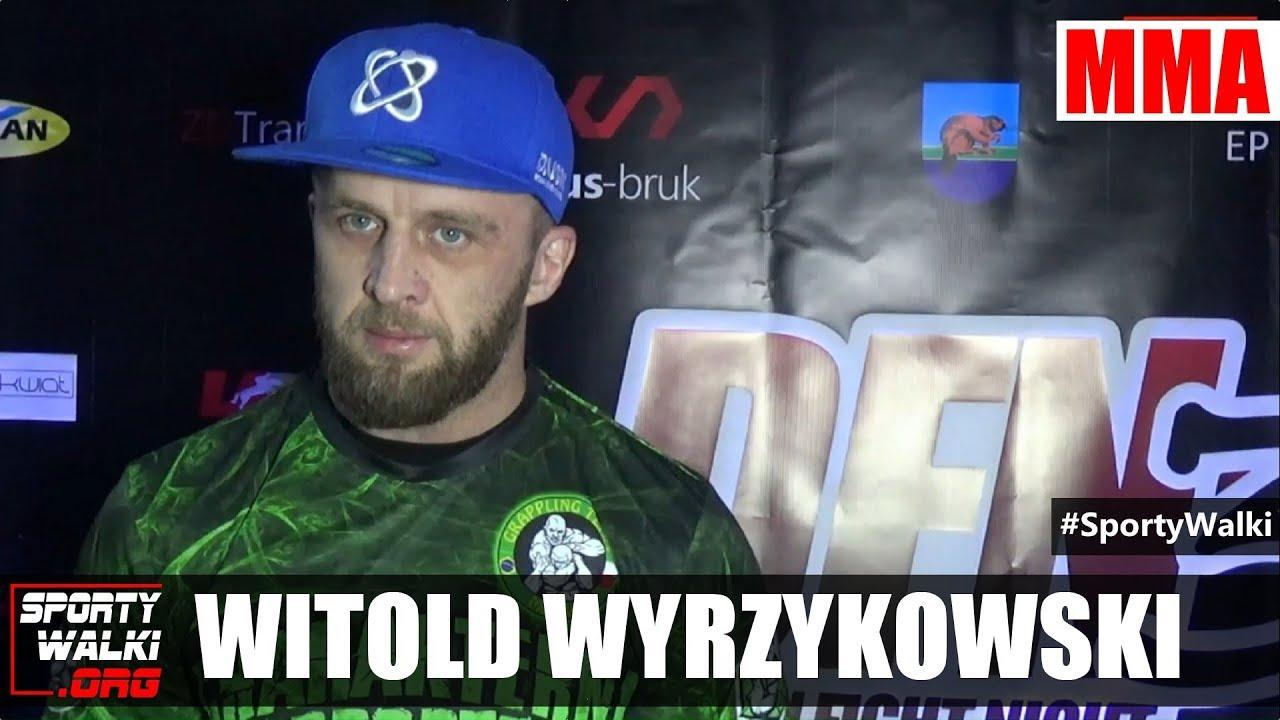 Witold Wyrzykowski przed Dragon Fight Night 3
