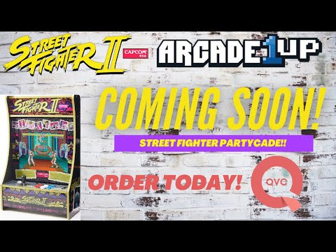 Arcade1up: Street Fighter PartyCade Exclusive to QVC!  Check it out! from PsykoGamer