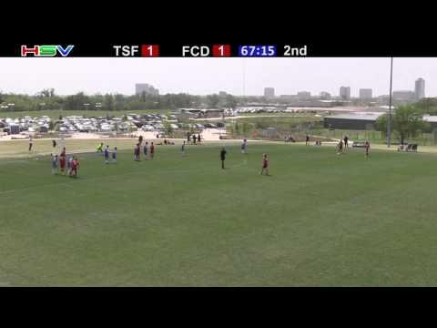 FC Dallas 98 Premier vs TSF Academy X