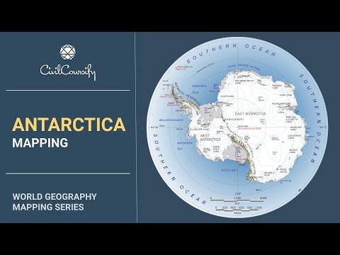 ANTARCTICA || World Geography Mapping