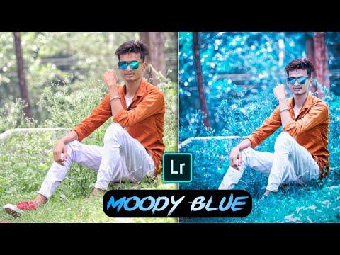 Moody Blue Effect - Lightroom Mobile Editing Tutorial || Lightroom New Update 4.3 Download 2019