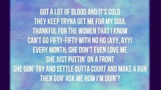 Gambar cover Drake - I'm Upset (Lyrics)