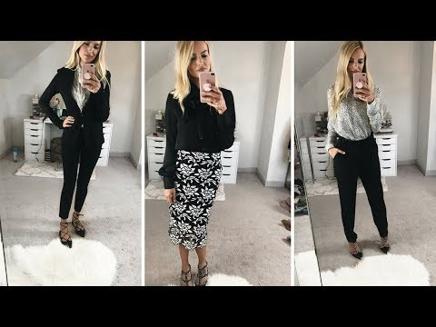 WHAT TO WEAR TO WORK   BUSINESS CASUAL OUTFIT IDEAS