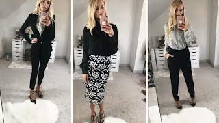 WHAT TO WEAR TO WORK | BUSINESS CASUAL OUTFIT IDEAS