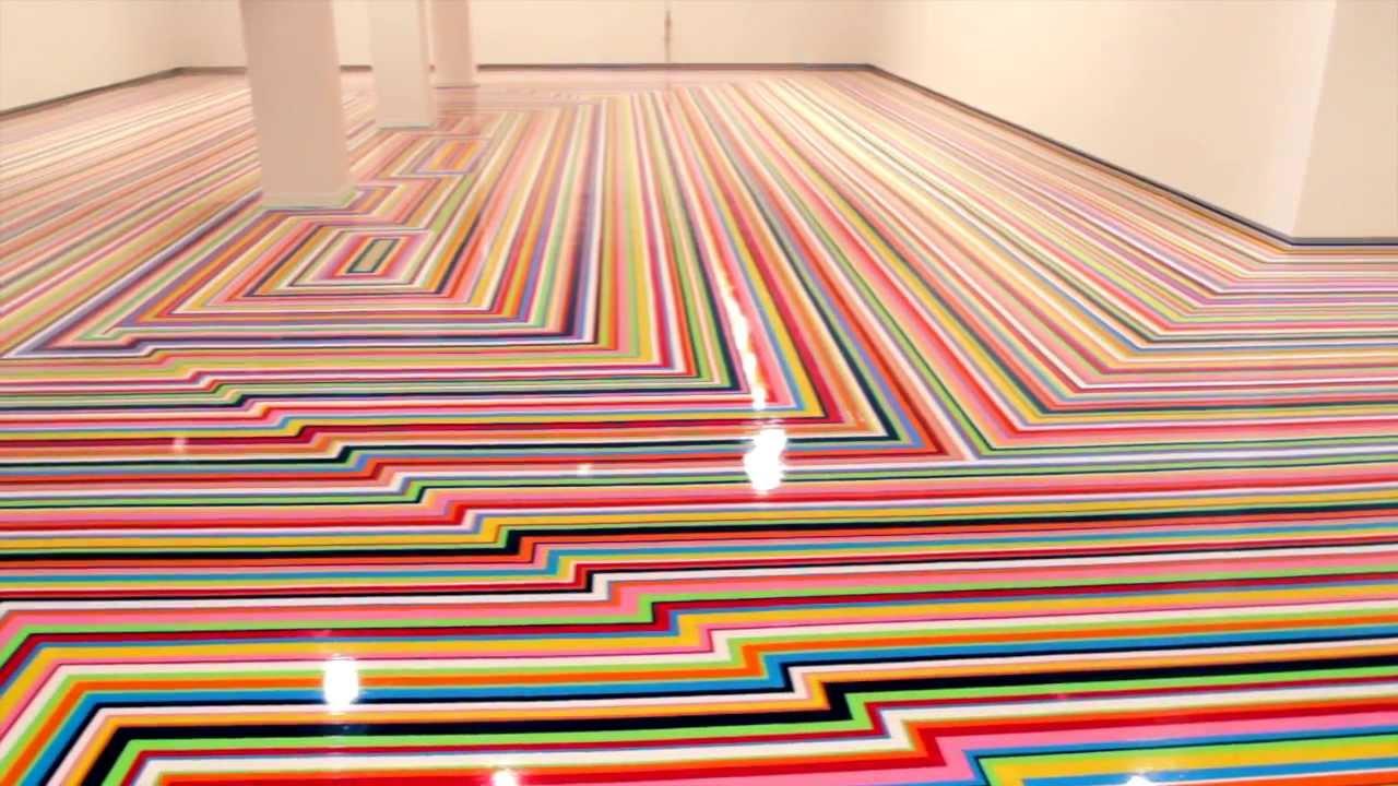 Jim Lambie Installation At Mca Australia For The 19th