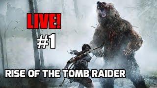 🔴LIVE - Rise of The Tomb Raider #1! Pregatit pentru actiune.