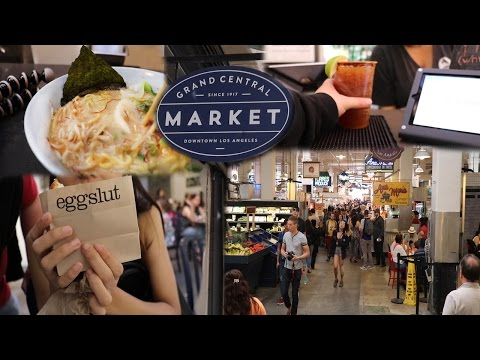 Grand Central Market 🔥 || Downtown, Los Angeles