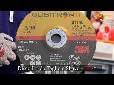 Disco Ibrido Taglio e Sbavo (Cut & Grind)