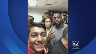 Dwyane Wade Surprises Students At Marjory Stoneman Douglas High