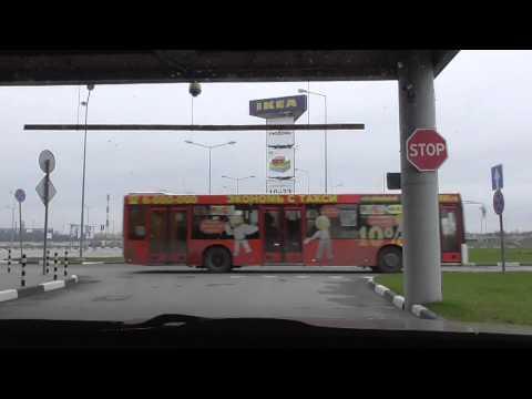 Остановка перед перекрестком и знаком STOP/