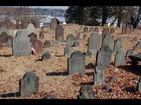 Ever Seen An Old New England Cemetery?