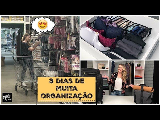 VLOG: 3 DIAS DE MUITA ORGANIZAÇÃO + ACHADOS DE DECOR NA LEROY | Organize sem Frescuras!
