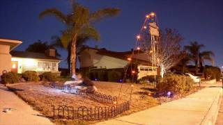 Time Lapse: Setting Up My Halloween Display in Santee, California 2011