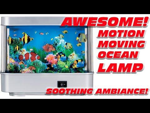 Fish Aquarium Living Motion Lamp Electric Light