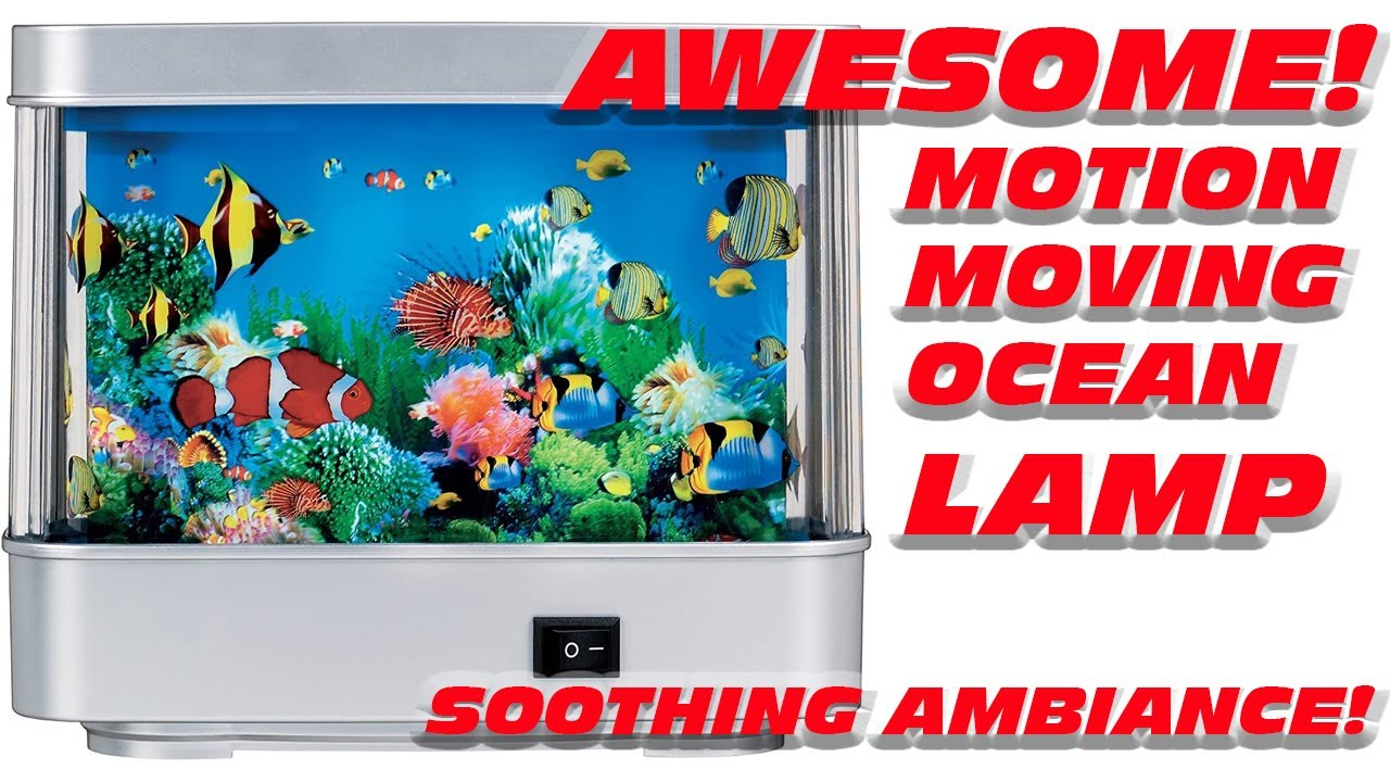 Fish tank night light - Fish Aquarium Living Motion Lamp Electric Light