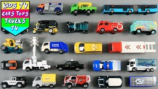 Special Vehicles Names And Sounds For Kids Children Babies Toddlers | Vehicles For Kids | Kids TV