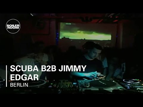 Scuba b2b Jimmy Edgar Boiler Room Berlin DJ Set