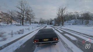 Forza Horizon 4 - 1977 Lamborghini Jarama S Gameplay [4K]