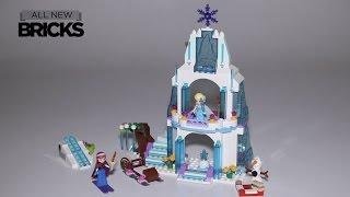 Lego Disney Princess 41062 Elsa's Sparkling Ice Castle Speed Build