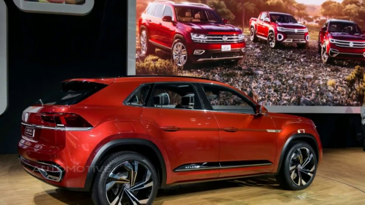 2020 Vw Atlas Cross Sport Volkswagen S Suv Family Affair Begins