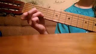 Любви нет преград. Песня на гитаре .