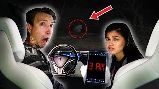 TRAPPED in $100,000 ABANDONED TESLA for 24 HOURS CHALLENGE Video