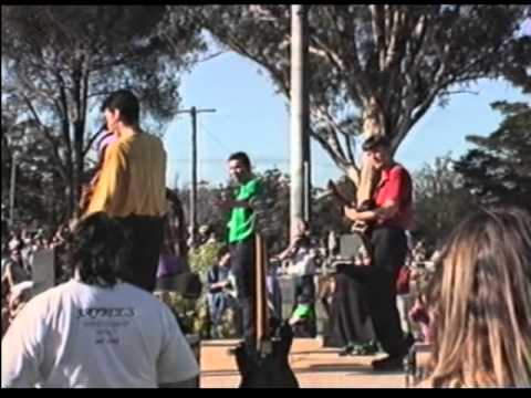 The Wiggles performing live in 1994