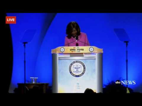Women Introducing Hillary Clinton At The NAACP Convention Calls Her Henry