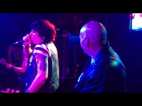 """Cheetah Chrome's Dead Boys play """"Not Anymore"""" live at Bowery Electric on 9-17-17"""