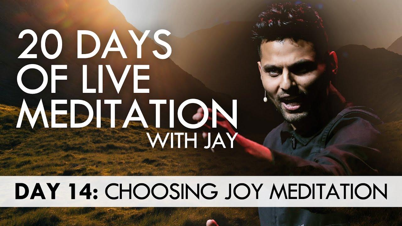 20 Days of Live Meditation with Jay Shetty: Day 14 - YouTube