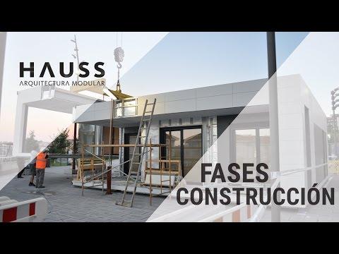 HAUSS MODULAR:  Fases de fabricación