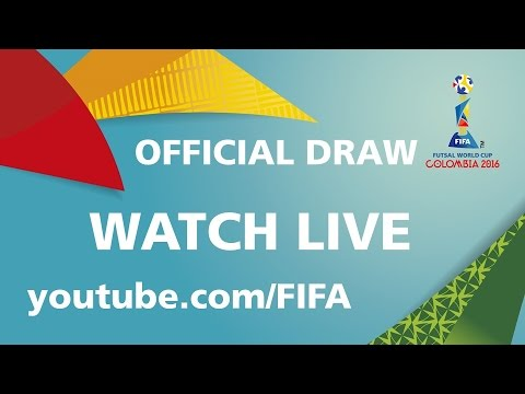 REPLAY: FIFA Futsal World Cup Colombia 2016 - OFFICIAL DRAW