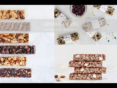 Granola Bars & Cereal Bars | Vegan, Paleo, Sugar-Free & Nut-Free options