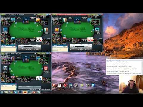 Pokeri - Zanfessin No Limit Texas Hold'em käteispeli-ilta NL50 - NL100 pöydissä