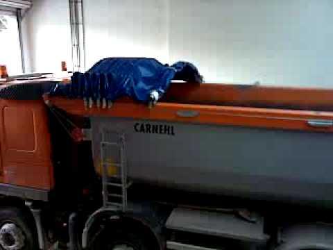 CRAMARO Schiebeverdeck Cabriole' auf Carnehl Hinterkipper