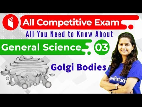 2:45 PM - All Competitive Exams | General Science by Shipra Ma'am | Golgi Bodies