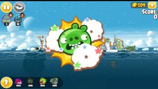 Angry Birds Seasons Arctic Eggspedition All levels