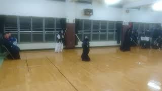 江南警察署 少年剣道教室  金銀胴 争奪戦 小学生低学年高学年混成試合  その1