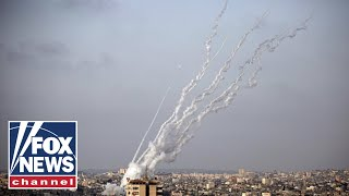 Hamas fires more than 45 rockets at Israel