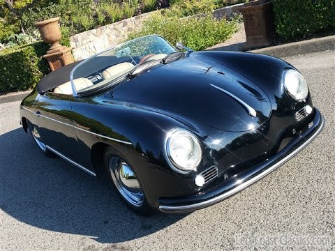 1957 Porsche Speedster Replica From Vintage Speedsters