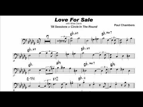 Paul Chambers: Love For Sale