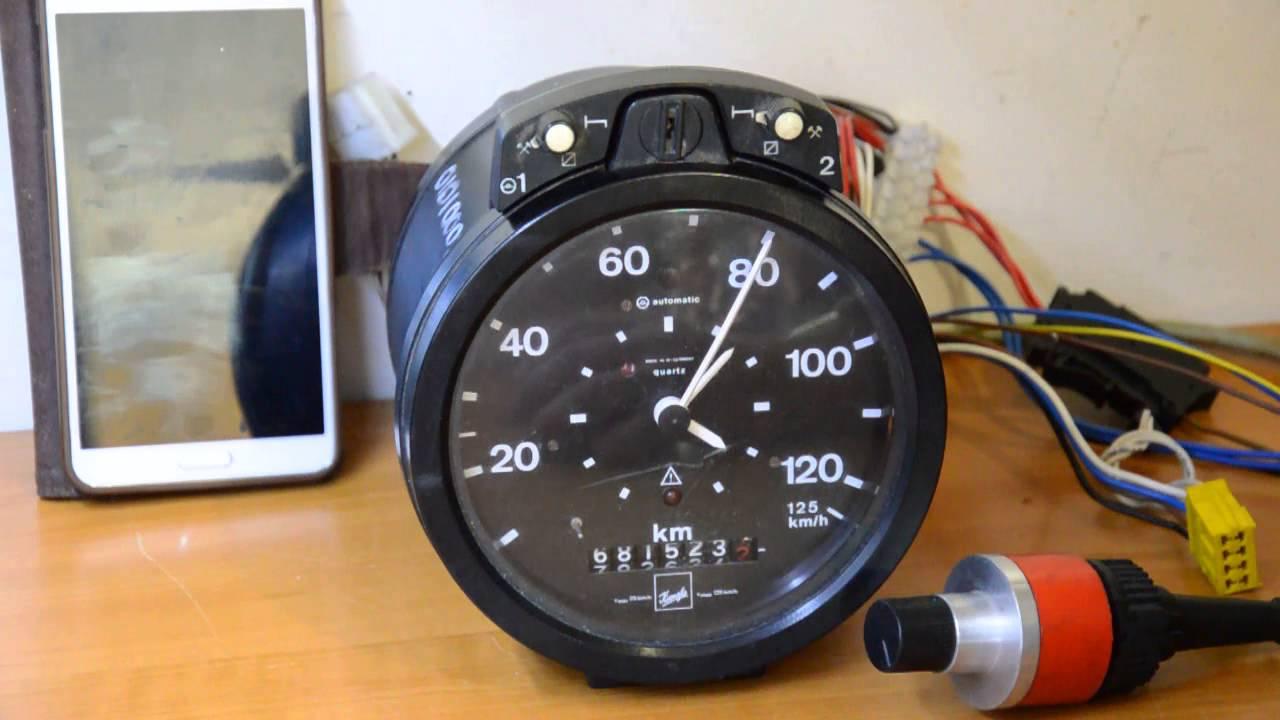 tachograph fahrtenschreiber kienzle 1314 37 09 8 youtube rh youtube com