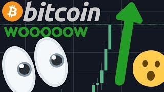 INSAANE!!!! BITCOIN IS BREAKING UP RIGHT NOW!!!!   HUGE BUY SIGNAL!!!!!!!!!!!