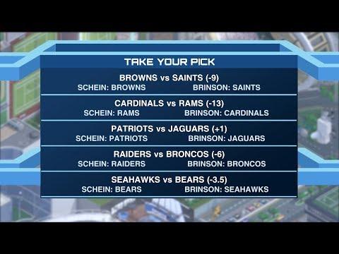 Time To Schein: Will Brinson Talks NFL Picks 09/14